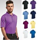 Glenmuir Men's Performance Pique Golf Polo Shirt - Breathable in Various Colours