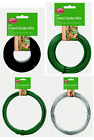 Garden Wire Heavy Duty Fencing Wire Green PVC/ Galvanised Size Choice 1 2 3 mm