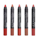 5pcs set Beauty Matte Moisturizing Lipstick Makeup Pen Waterproof Cosmetic