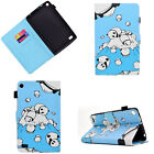 Painted Magnetic PU Leather Case Stand Flip Cover For Amazon Fire HD 7 2015