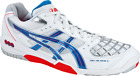 Asics Gel Blade 4 Men's court shoes White/Royal Blue/Red