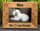 Personalized Engraved // Poodle // Picture Frame