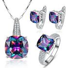 Gemstone Mystic Topaz Jewelry Set