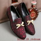 Prom Slip On Bowknot Casual Fashion Men Korean Loafer Shoes Summer Shoes 11-16