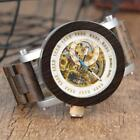 MONTRE EN BOIS SQUELETTE - SKELETON ANTIQUE WOOD WATCH