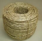 Treated Manila Rope Various Diameters 1/4 3/8 1/2 5/8 3/4 1 1-1/4 1-1/2 2 100 <br/> PLEASE READ ENTIRE DESCRIPTION - Pick diameter &amp; length