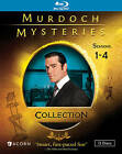 Murdoch Mysteries Collection: Seasons 1-4 [12 Discs] Blu-ray Region A