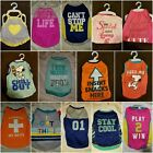 Dog Clothes (Tank Tops for Male & Female) Various Brands