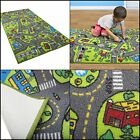 Kids Carpet Road Traffic Playmat Rug City Life Great For Playing Cars & Toys Fun
