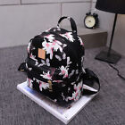 USA Ladies Floral Backpack Travel Leather Handbag Rucksack Shoulder School Bag