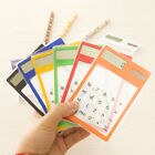 Portable Solar Touch Screen LCD 8 Digit Electronic Transparent Calculator Gadget