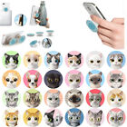 pop up animals - Animals Cat Dog Pattern Pop Up Out Expanding Phone Grip Holder Stand Mount Clip