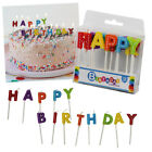 Happy Birthday Cake Candles Party Boys Girls Kids Adult Coloured Fun Celebration