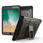 "iPad 9.7"" 2018/2017 [Tough Armor TECH] Spigen® Gunmetal Case and Tempered Glass"