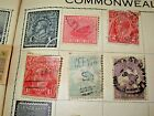 5 100 yOLD AUSTRALIA STAMP 2 + 9 PENCE, 1 1/2 PENCE ONE PENNY, ONE SHILLING