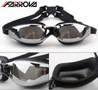 Adult Non-Fogging Swimming Goggles Swim Glasses Adjustable protection Waterproof