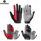 Rockbros Cycling Full Finger Gloves Touch Screen Autumn Winter Gloves With Pad
