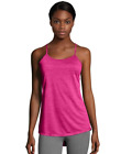 2 Hanes Sport™ Women's Performance Strappy Tank Tops O9076