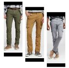 NEW * MOSSIMO MENS Cargo Combat Pants SLIM LEG Stretch * 4 COLORS & MULTI SIZES