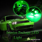 8pcs Bulb Car LED Llights Interior Package Kit For 2001-2003 Acura CL AC1W Green
