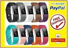 Silicone Replacement Wristband Sports Band Strap Fitbit Charge 2 & HR, LARGE