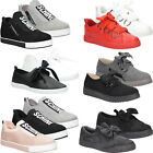NEW Women Shoes Sneakers Slip on Trainers Bow Styleish Comfort Sizes 3-7.5 Shoe