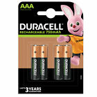 GENUINE DURACELL AAA RECHARGEABLE BATTERIES NiMH 750MAH PREC