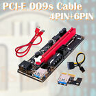 Lot USB 3.0 ver009S PCI-E Express 1x To 16x Extender Riser Card Adapter Cable I2