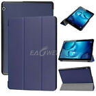 "For Huawei MediaPad T3 7"" 8"" 10"" Tablet Folio Slim Leather Case Stand Cover +Pen"