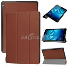 """For Huawei MediaPad T3 7"""" 8"""" 10"""" Tablet Folio Slim Leather Case Stand Cover +Pen"""