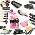 Professional 32 Pcs Kabuki Make Up Brush Set Eye Cosmetic Brushes Case Mall
