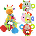 Внешний вид - Newborn Baby Infant Animal Soft Rattles Teether Hanging Bell Plush Bebe Toys