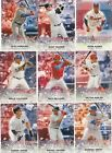 2018 TOPPS BASEBALL OPENING DAY  STARS STICKERS INSERT U-PICK COMPLETE YOUR SET