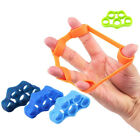 3x Crimp Finger Training Resistance Bands Rubber Hand Tension Strength Exerciser image