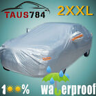 Full Car Cover Multi Size Rain Sun Ice Snow Dust Resistant Waterproof Protection