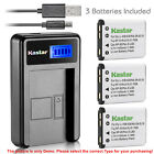 Kastar Battery LCD Charger for Fujifilm NP-45 NP-45A FinePix JX335 FinePix JX350