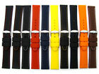 Silicone Watch Band Diamond Pattern 16mm 18mm 20mm 22mm Lots of Colours! C052