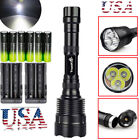 80000LM Police Tactical 7x T6 LED Flashlight Torch Lamp Light 5-Modes 18650 Hot