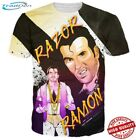 New T-Shirt Men/Women 3D Razor Ramon Video Game Cartoon Character Print Fashion