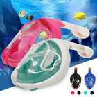 Swimming Diving Breath Full Face Mask Surface Snorkel Scuba for GoPro 3nd Gen