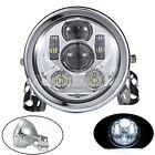 "5.75"" 5 3/4"" Round Projector LED Headlight Bulb Fit Harely-Davidson Motorcycle"