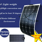 100w Flexible Solar Panel Photovoltaic for Boat Home Car Camping Battery Charger