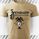 T-Shirt ZUNDAPP WW2 German military motorcycle - Sand