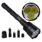 Tactical Police 48000LM 3x T6 LED 18650 Powerful Patrolling Flashlight Torch