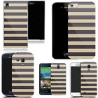 For Various Mobile Phones Design Hard Back Case Cover - multi line