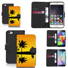 pu leather wallet case for sony & other mobiles jubilant pictoral