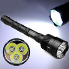48000LM 3T6 LED 18650 Tactical Aluminum Powerful Patrolling Flashlight Touch US