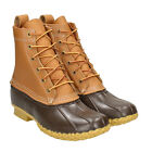 """L.L. BEAN MEN ANKLE BOOTS HI 8"""" BEAN BOOTS MADE IN USA 212880"""