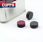 Cuppa 5 Pieces-lot High Quality Billiard Pool Cue Tip 14mm Multi Layers Red.....