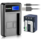Kastar Battery LCD Charger for Canon NB-2L12 NB-2LH & Canon EOS Digital Rebel XT